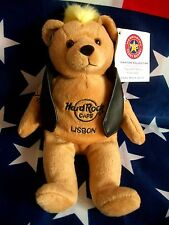 HRC hard rock cafe Lisbon Lisboa punk Bear Mohawk 2008 yellow hair Herrington