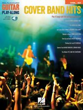 Cover Band Hits Sheet Music Guitar Play-Along Book and Audio NEW 000211597