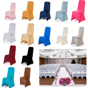 Stretch Dining Chair Covers Slipcovers Kitchen Chair Protective Covers Wedding