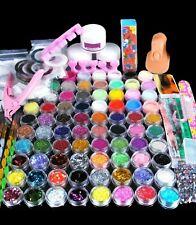 Best Acrylic nail powder, 78 PCs. New full nail kit set
