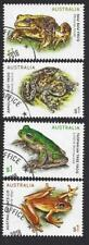 AUSTRALIA 2018 FROGS SET OF 4 FINE USED