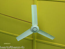 12 Volt DC Ceiling fan lightweight  20 Inch w/8 FT. cord Camping Boating RV home