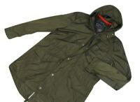 """Paul & Shark Parka Jacket Large 23"""" pit To Pit Khaki Green Fishtail"""
