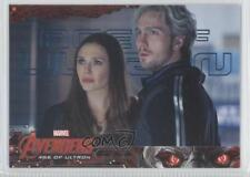 2015 Upper Deck Marvel Avengers: Age of Ultron #70 The Maximoff twins /199 0n8