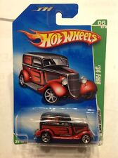 Hot Wheels 2009 Regular Treasure Hunt 06/12 Red & Black '34 Ford Bitumen