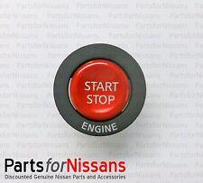 GENUINE NISSAN 2009-2015 GT-R IGNITION PUSH BUTTON START STARTER SWITCH NEW OEM