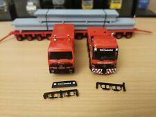 (P11) Herpa LKW H0 1:87 MB Actros Schwerlast Transport Gebr. Markewitsch