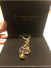 Skull Necklace Anthony Jacobs