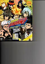 KATEKYO HITMAN REBORN! Vol.102-153 End Anime DVD