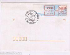 1991//VIGNETTE (LSA) SUR ENVELOPPE 1°JOUR**PRINTEMPS DE BOURGES** Y/T 166