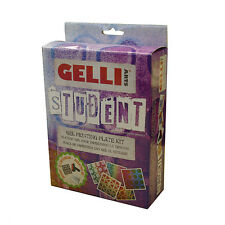 Gelli Arts Gel Printing Plate Student Kit Monoprinting without a press