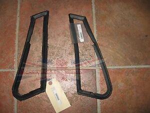 New Pair Door Vent Seals MG Midget 1964-1979 Austin Healey Sprite