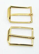 1 Schließe Gürtelschnalle Schnalle 3 cm gold rostfrei 04.05/909