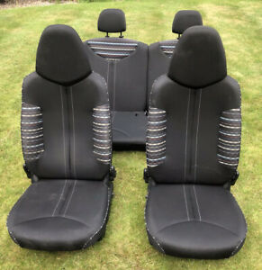 06-14 CITROEN C1, AYGO, PEUGEOT 107 FULL SEAT SET (without runners & seat belts)