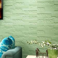 Hot Sale PE Foam 3D Wallpaper DIY Wall Stickers Wall Decor Embossed Brick Stone
