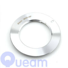 M42 Lente Adaptador Sony Minolat MA Plata A65 A57 A77 A900 A330 A300 A290 A450
