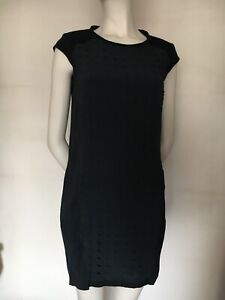 Atos Lombardini Made in Italy Polyester/Silk,Tunic Dress Size IT40,UK8