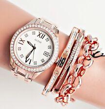 GUESS  Uhr Damenuhr W0848L3 Waverly Edelstahl Rose Gold NEU!