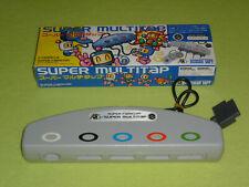 SNES Super Famicom Super Multitap OVP Bomberman Hudson Soft VGC Top Zustand RAR