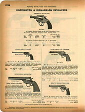 1934 ADVERTISEMENT Harrington & Richardson Revolver American Bull Dog 922 Trap