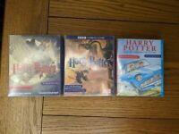 Joblot of 3 x Harry Potter Tape Cassettes - Prisoner of Azkaban / Goblet of Fire