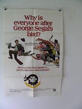 Black Bird Poster 1975 George Segal Sam Spade Maltese Falcon 27 by 41