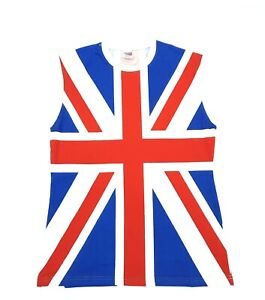 Union jack men T-Shirts, GB T-SHIRTS 100% COTTON, sleeveless T.SHIRT