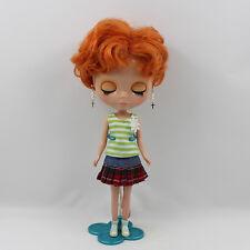 "New Takara 12"" Neo Blythe Doll From Factory short hair dark skin free shipping"