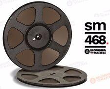 """SM468 RTM PYRAL RMG RMGI TAPE REEL TO REEL 1/4"""" X 2500 10.5"""" PLASTIC TRIDENT NEW"""