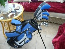 RIGHT HAND SET CALLAWAY XJ SERIES GOLF 6 CLUBS JUNIOR AGED 7 TO 10 +EXTRAS