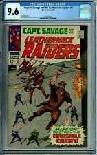 CAPTAIN SAVAGE AND HIS LEATHERNECK RAIDERS 5 CGC 9.6 WP HIGHEST GRADED MARVEL