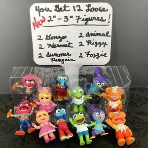 You Get 2 Full Sets Disney Muppet Babies Loose Playroom Figures! 12 (2 Each) New