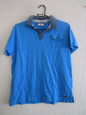 boys blue lee cooper polo shirt age 13 years