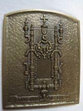 Bronze Medal- Convento de Cristo Signed L. Inacio 73 / Bronze Medal / M35