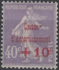 "FRANCE STAMP TIMBRE N° 249 b "" CAISSE AMORTISSEMENT VARIETE "" NEUF xx TTB K227"