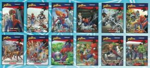 12 x Spider-Man Story Books, Phonics Pack Reception Year 2 Reading Practise 5-7