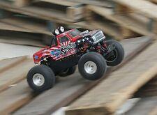Cappottina Monster Truck Nitro Circus 1/16 + Kit decal