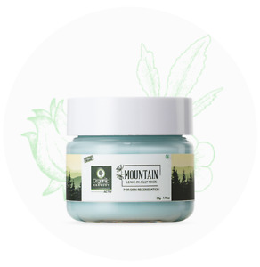 Organic Harvest Mountain Range Leave in Jelly Mask, 50 gm