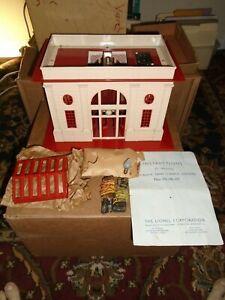 Lionel 117 Station 1936 Original Box, Original Box Insert, Original Instructions