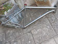 rare Form Prevail titanium mountain bike frame/headset/post clamp