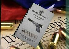 SMITH & WESSON Model 41 Owners Manual
