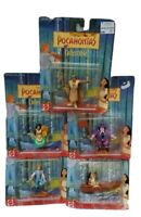 Vintage Disney Princess Pocahontas Collectible Figure PVC Set Mattel 90s SEALED