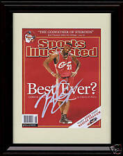 Framed Lebron James Sports Illustrated Autograph Replica Print - Best Ever?
