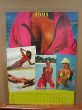 """""""1991"""" Hot girls man cave car garage Vintage Poster  1990 2300"""