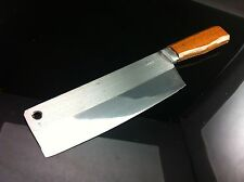 .Knife Kitchen Knive Stainless Steel Handle Wood Handmade Blade 6 inch