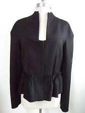 BRIONI black fine wool jacket blazer Italian size 46 original retail $3,000