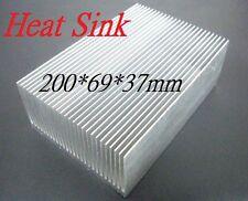 200x69x37mm Heatsink, Aluminum Heat-Sink, Heat Sink for LED, Power Transistor