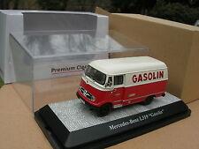 "PREMIUM ClassiXXs 1/43 CAMION  MERCEDES BENZ L319 FOURGON Tolé "" GASOLIN "" !"