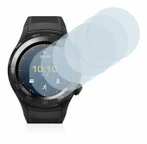 Huawei Watch 2  Smart Watch,  6x Transparent ULTRA Clear Screen Protector