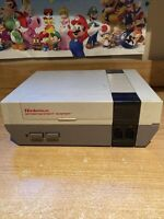 Nintendo NES Console Only. 1985, NES-001. For Parts, As-Is not tested B
